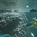 Haibecken im Aquarium Bergen